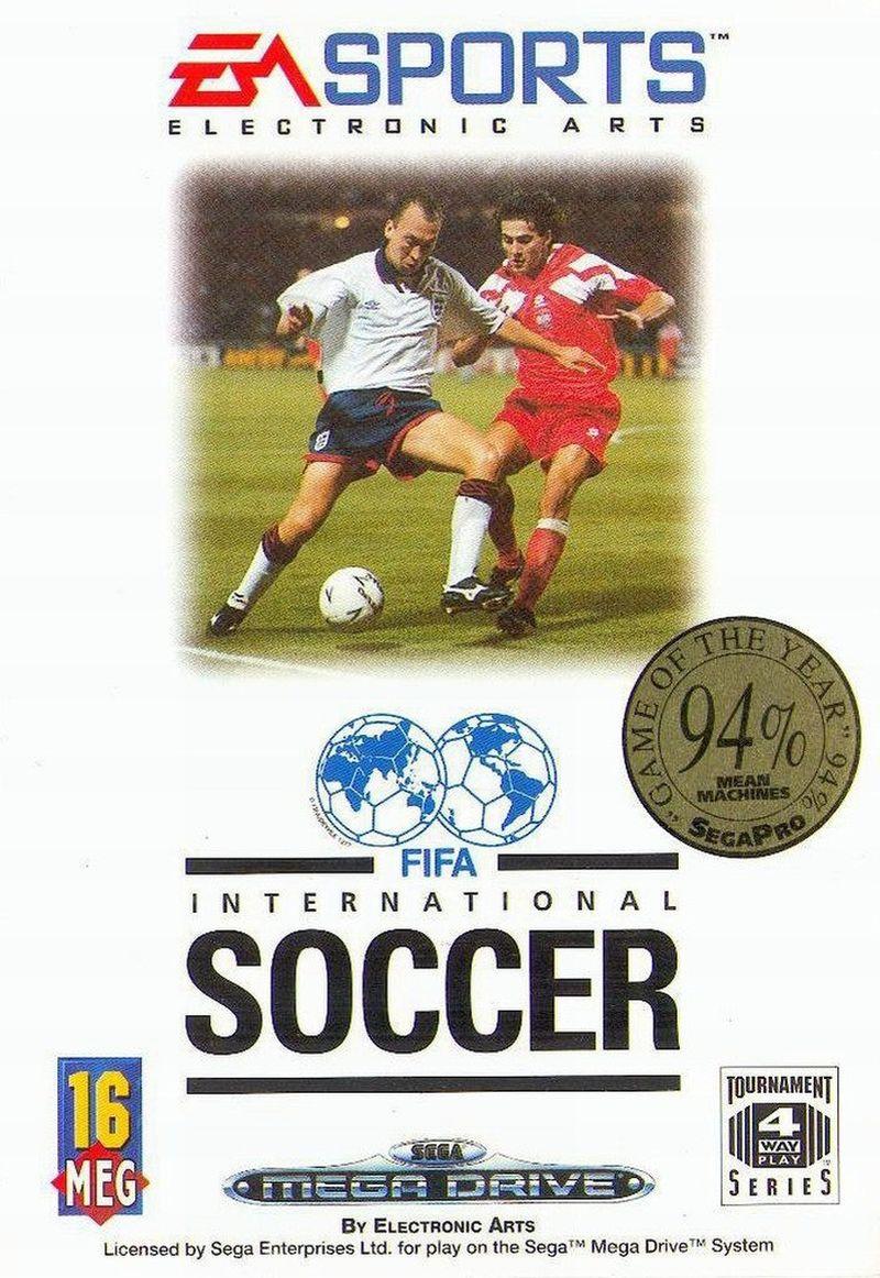 """Alles auf Anfang: """"FIFA International Soccer"""" erschien 1993 unter anderem für SNES und Sega Mega Drive. Bis zu vier Spieler konnten damals gleichzeitig spielen. Dafür gab es in den 48 Nationalmannschaften keinen einzigen echten Spieler. Alle Akteure waren frei erfunden."""