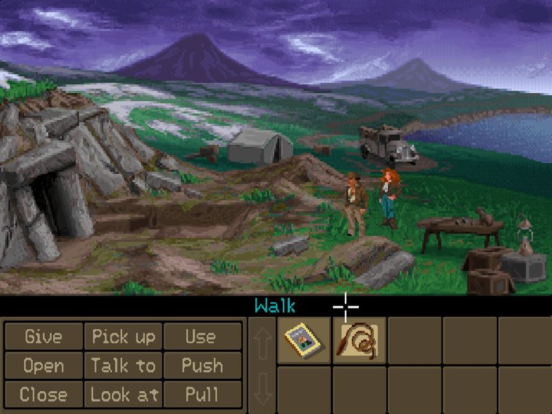 """""""Indiana Jones and the Fate of Atlantis"""" erschien als letztes Indy-Game 1992."""