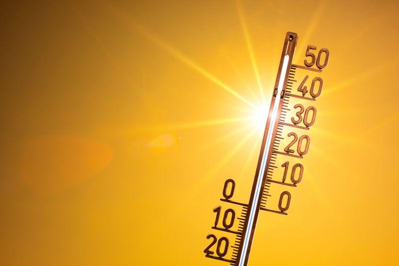 Klar, verglichen mit tropischen oder subtropischen Regionen ist es in Deutschland meist relativ kalt. Doch im Sommer können wir auch hierzulande Temperaturen jenseits der 40-Grad-Marke erreichen. Am 5. und am 7. August 2015 etwa wurden im fränkischen Kitzingen 40,3 Grad Celsius gemessen. Vier Jahre später wurde dieser Rekord gleich zweimal übertroffen: Auf dem NATO-Flugplatz bei Geilenkirchen stieg das Thermometer am 24. Juli 2019 auf 40,5 Grad, nur einen Tag später wurden in Duisburg-Baerl und Tönisvorst sogar 41,2 Grad aufgezeichnet.