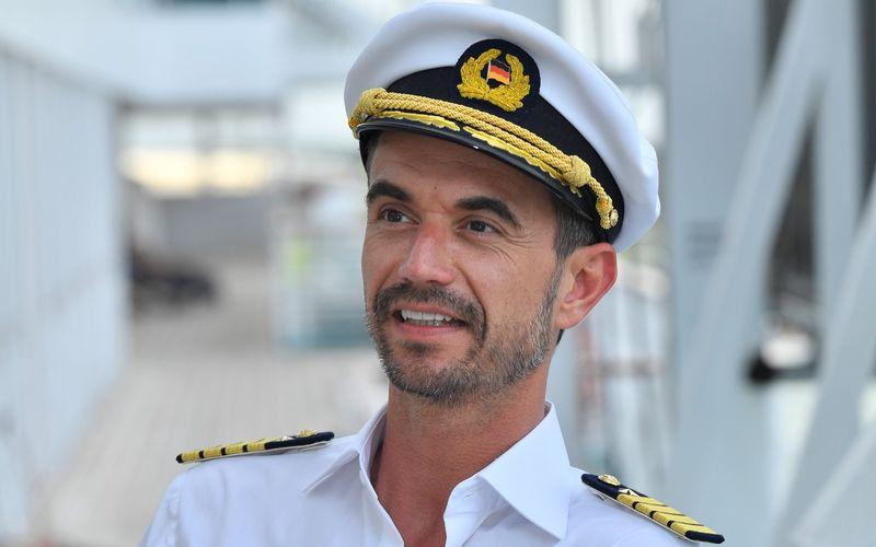 """Seit Ende 2019 steht Florian Silbereisen als """"Traumschiff""""-Kapitän Max Parger vor der Kamera."""