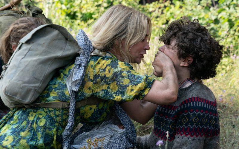 """Emily Blunt und Noah Jupe in """"A Quiet Place 2"""": Der Film soll bereits Ende Mai in die Kinos kommen."""