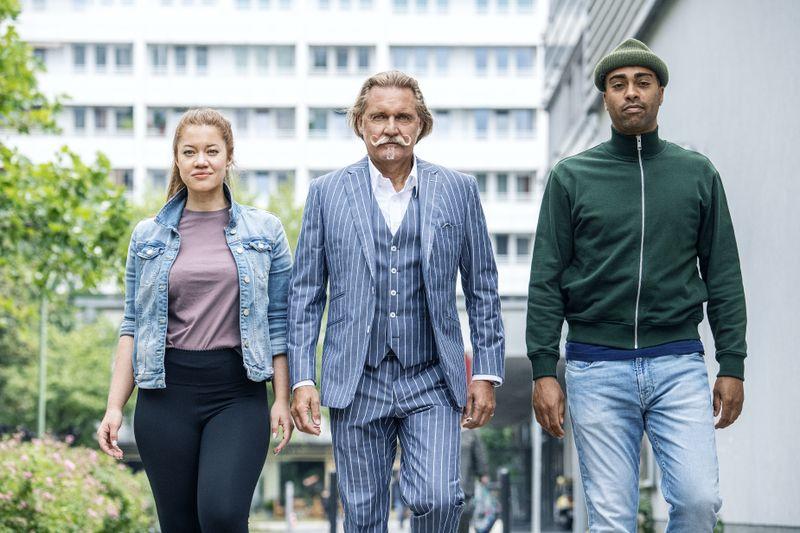 Das gute eingespielte Team möchte Menschen helfen, die in Alltagssorgen feststecken, von links: Sarah Grüner, Ingo Lenßen und John Davis.