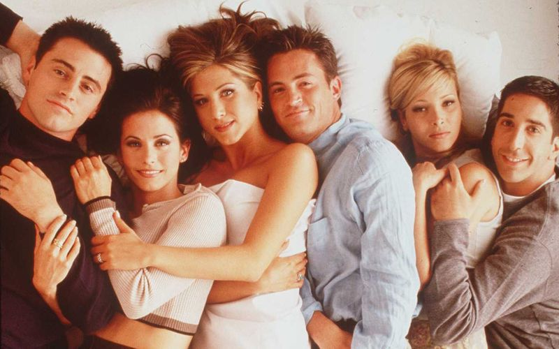 Zehn Jahre lang nahmen Serien-Fans von ihrem Wohnzimmer aus teil an ihrem Leben. Von links: Joey (Matt LeBlanc), Monica (Courteney Cox), Rachel (Jennifer Aniston), Chandler (Matthew Perry), Phoebe (Lisa Kudrow) und Ross (David Schwimmer) waren von 1994 bis 2004 die allerbesten Fernseh-Freunde.