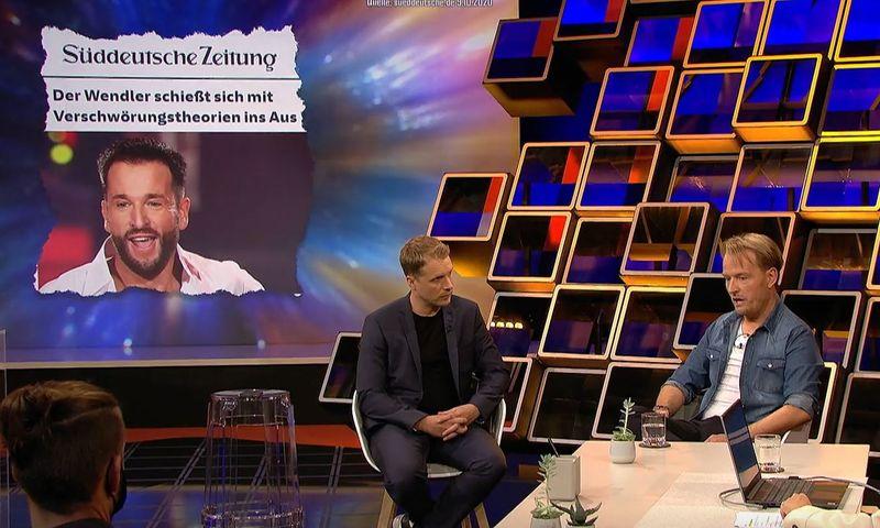 Bei Oliver Pocher (links) äußerte sich Wendler-Manager Markus Krampe abermals zum Eklat.