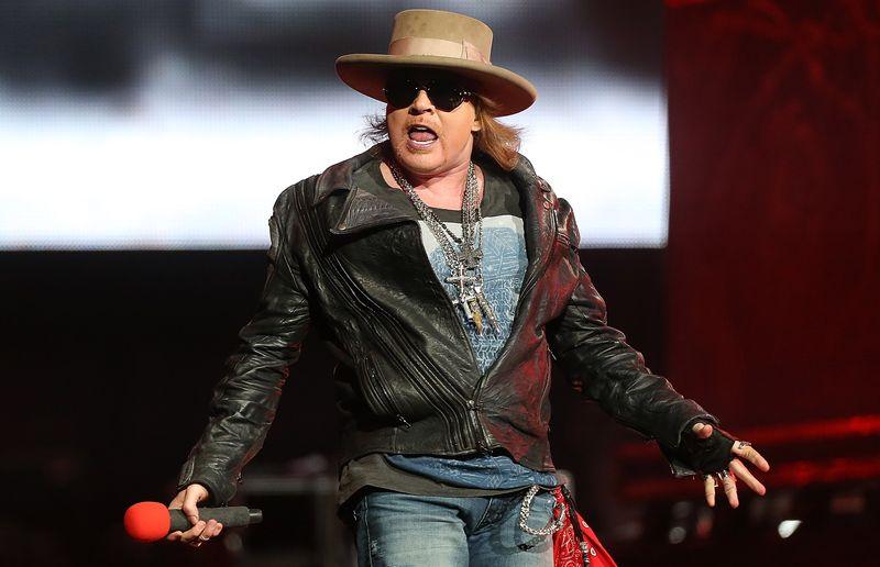 Axl Rose plant mit seiner Band Guns N'Roses eine Stadiontour durch Australien und Neuseeland.