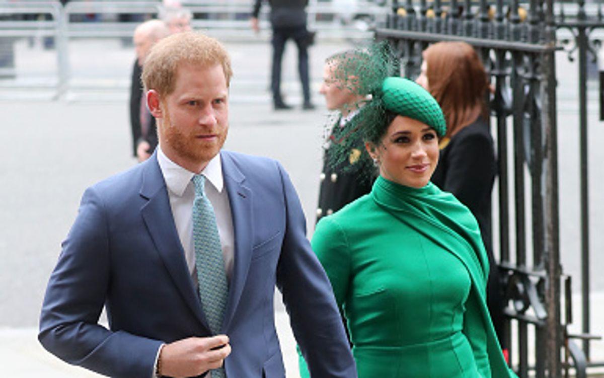 Das Traumpaar nahm Abschied von den royalen Verpflichtungen im Hause Windsor: Prinz harry und Meghan Markle, Herzog und Herzogin von Sussex.