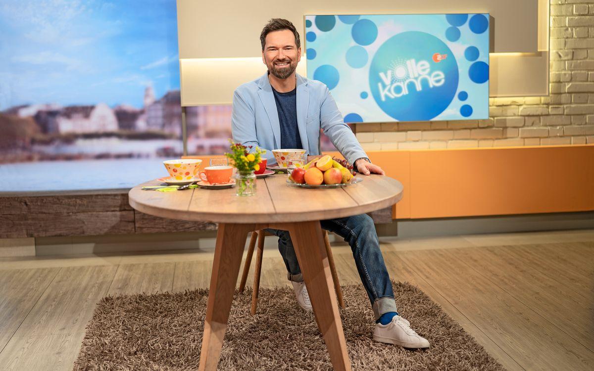 """Rund 3.000 Ausgaben des ZDF-Vormittagsmagazins """"Volle Kanne - Service täglich"""" hat Ingo Nommsen in den vergangenen Jahren moderiert."""