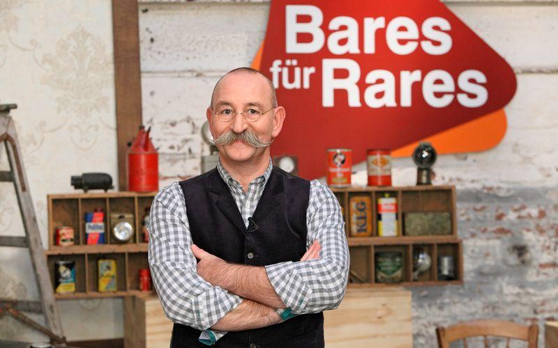 """Seit 2013 moderiert Horst Lichter die ZDF-Sendung """"Bares für Rares""""."""