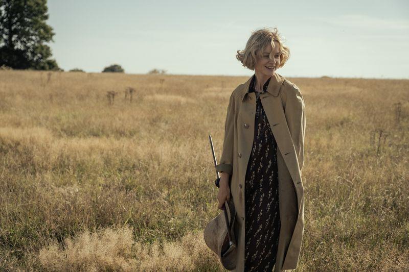 Hobby-Archäologin Edith Pretty (Carey Mulligan) vermutet auf ihrem Grundstück einen Wikinger-Schatz.