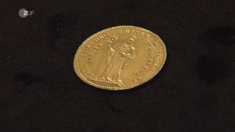 Diese Goldmünze war das Objekt, das noch für große Diskussionen sorgen sollte. Laut Expertin ein echter Dukat aus dem Jahr 1738 in sehr schönem Zustand.