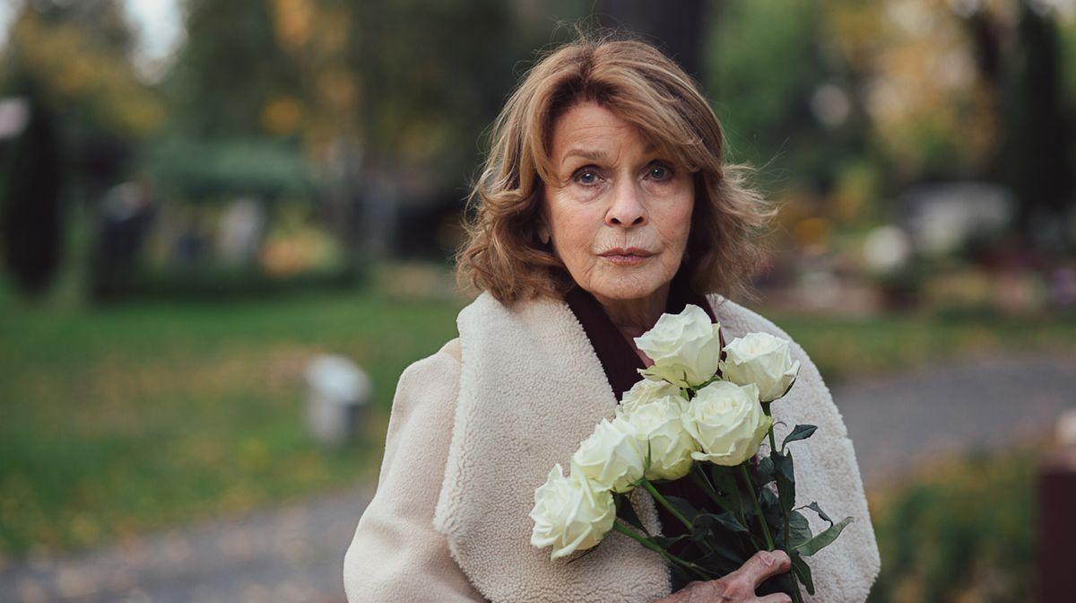 """Senta Berger spielt im ARD-Drama """"Martha und Tommy"""" die weibliche Hauptrolle."""
