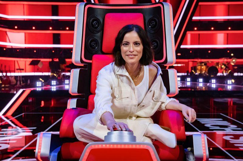 """Stefanie Kloß kehrt in der neunten Staffel zu """"The Voice Kids"""" zurück. 2020 teilte sie sich bei """"The Voice of Germany"""" einen Buzzer mit Yvonne Catterfeld."""
