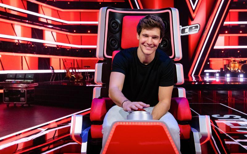 """Der Popsänger Wincent Weiss gibt bei """"The Voice Kids"""" sein Debüt als Talentshow-Coach."""