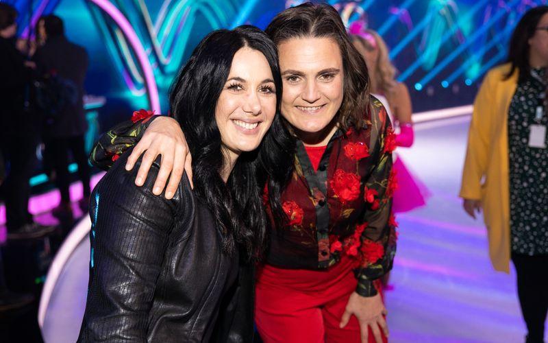 Nadine Angerer (rechts) und Magdalena Golombek sind seit 2016 verheiratet.