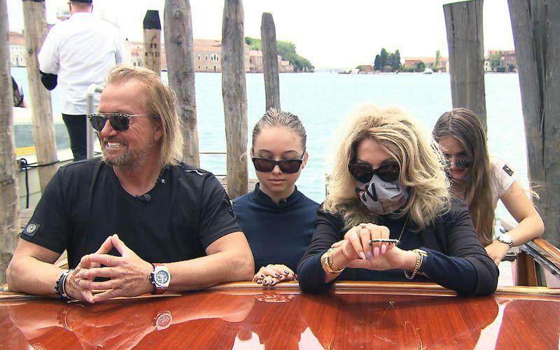 Die Geissens schippern in der aktuellen Folge ihrer RTLZWEI-Dokusoap durch Venedig.