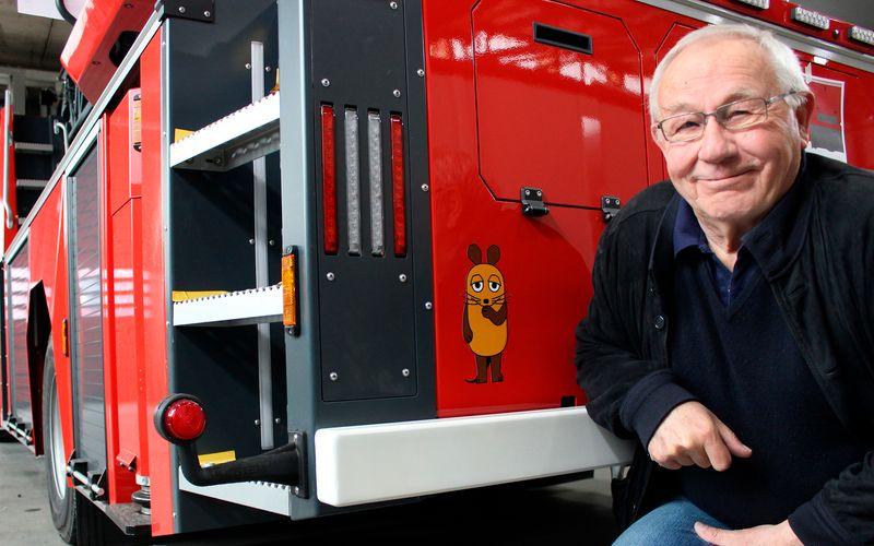 """Seit 1971 ist Armin Maiwald Teil des Teams der """"Sendung mit der Maus""""."""