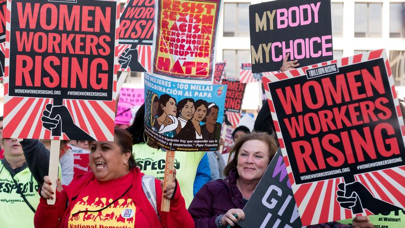Frauenprotest und Widerstand - Kampf für ein neues Amerika