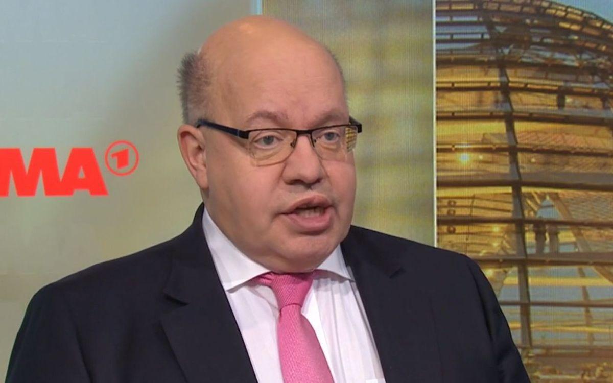 """Bundeswirtschaftsminister Peter Altmaier äußerte sich im """"ARD-Morgenmagazin"""" zur Zukunftsperspektive deutscher Unternehmen in der Coronakrise."""