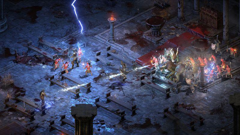 """4K-Auflösung, moderne Lichteffekte, neue Animationen: """"Diablo 2: Resurrected"""" malt die Hölle schöner denn je aus."""