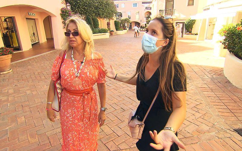Carmen Geiss streitet sich mit Tochter Davina um ein Paar teure Ohrringe.