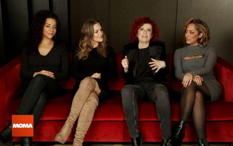 """Im """"ARD-Morgenmagazin"""" sprachen die No Angels (von links) Nadja Benaissa, Sandy Mölling, Lucy Diakovska und Jessica Wahls über ihre Pläne."""