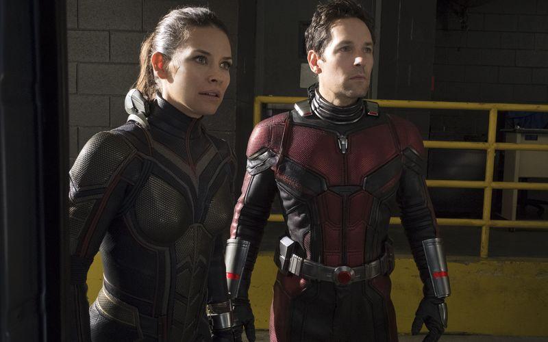 Scott Lang (Paul Rudd, rechts) ist nicht mehr allein: Hope van Dyne (Evangeline Lilly) unterstützt ihn im Kampf und in der Liebe.