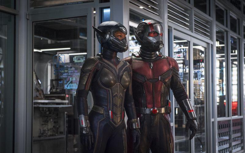 """Mit """"Ant-Man and the Wasp"""" startet Ameisenmann Scott Lang (rechts) - unterstützt von Evangeline Lilly - in sein zweites Solo-Abenteuer im Marvel-Superheldenkosmos."""