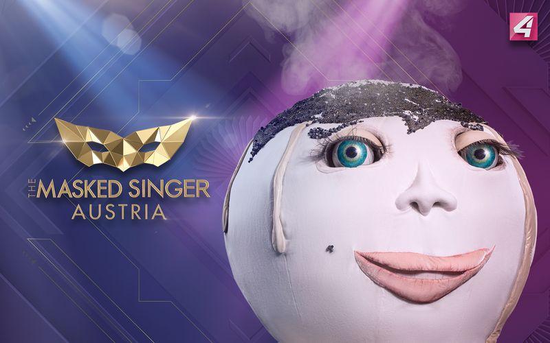 """Der Germknödel war das wohl süßeste und gleichzeitig auch skurrilste Kostüm der aktuellen Staffel von """"The Masked Singer Austria""""."""