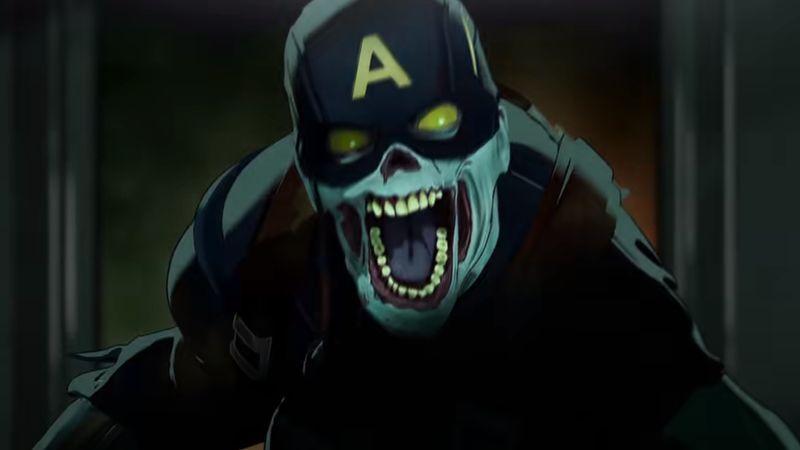 """In der neuen Marvel-Serie """"What if...?"""" ist alles erlaubt - selbst ein Captain-America Zombie."""