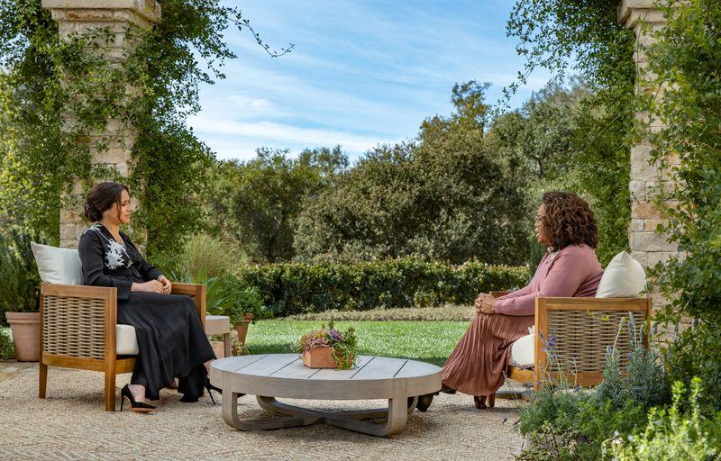 Drei Trailer schürten bereits die Erwartung, dass Meghan (links) im Gespräch mit Talk-Legende Oprah Winfrey mit ihrer Meinung über die Royal Family sowie den Umgang mit ihr nicht hinter dem Berg hält.
