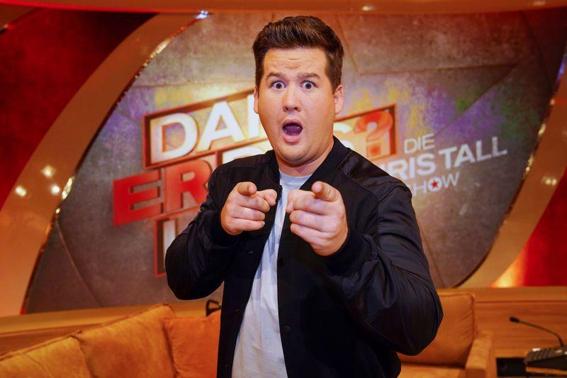 Comedian Chris Tall fordert stets die unmittelbare Reaktion seines Publikums heraus.