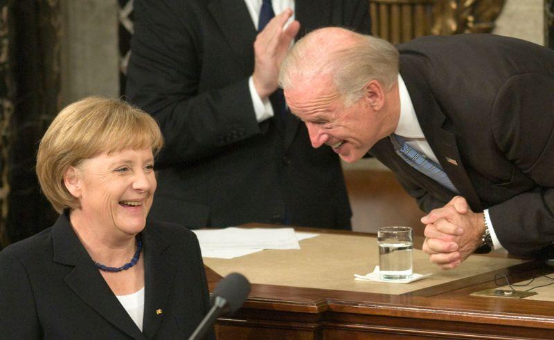 Die Chemie zwischen Angela Merkel und dem neuen US-Präsidenten Joe Biden scheint zu stimmen.