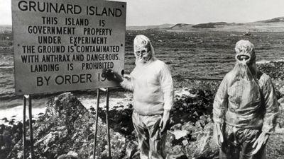 Gruinard Island verseucht