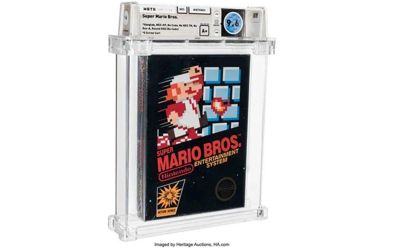 """Dieses """"Super Mario Bros.""""-Game von 1986 war bereits im April einem anonymen Käufer 660.000 Dollar wert."""