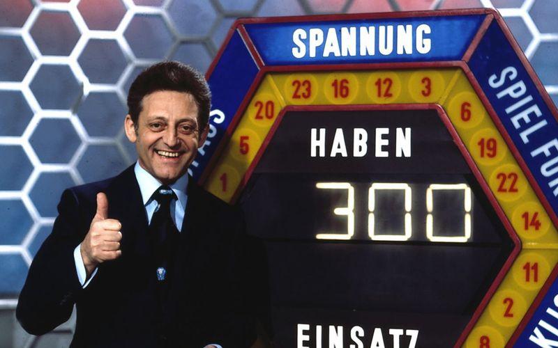 """Von 1971 bis 1986 moderierte der beliebte Entertainer Hans Rosenthaler die Spielshow """"Dalli Dalli""""."""