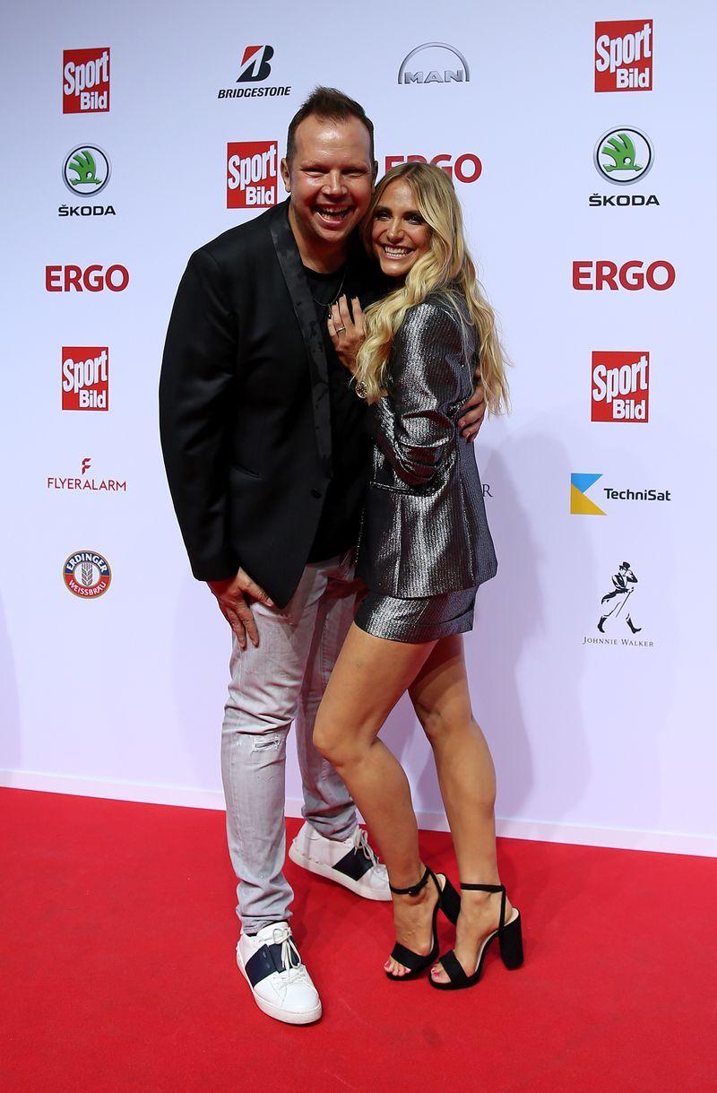 Gefragtes Power-Paar: Wolff-Christoph Fuss und seine Partnerin Anna Kraft (2019 in Hamburg) haben zwei Kinder. Sie arbeitet aktuell für Eurosport.