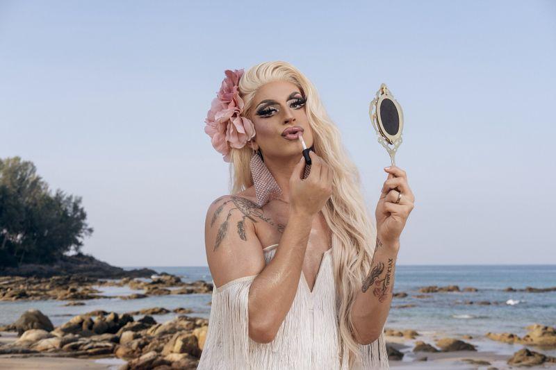 Drag Queen Katy Bähm war das Opfer von Prinz Marcus' homophober Attacke - und reagierte überraschend freundlich.