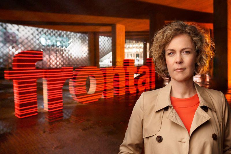 """Moderatorin Ilka Brecht führt seit 2014 durch das politische ZDF-Magazin """"Frontal 21""""."""