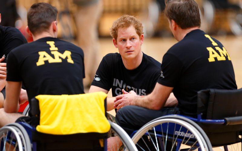 Prinz Harry rief die paralympischen Invictus Games 2014 ins Leben und ist seitdem Schirmherr der Organisation.