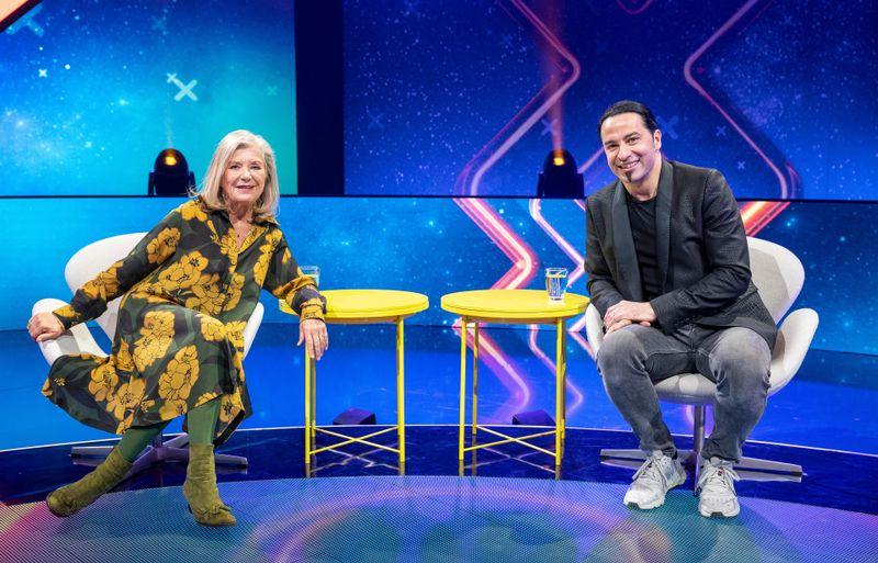 Bilden ein Quiz-Show-Team: Jutta Speidel und Bülent Ceylan.