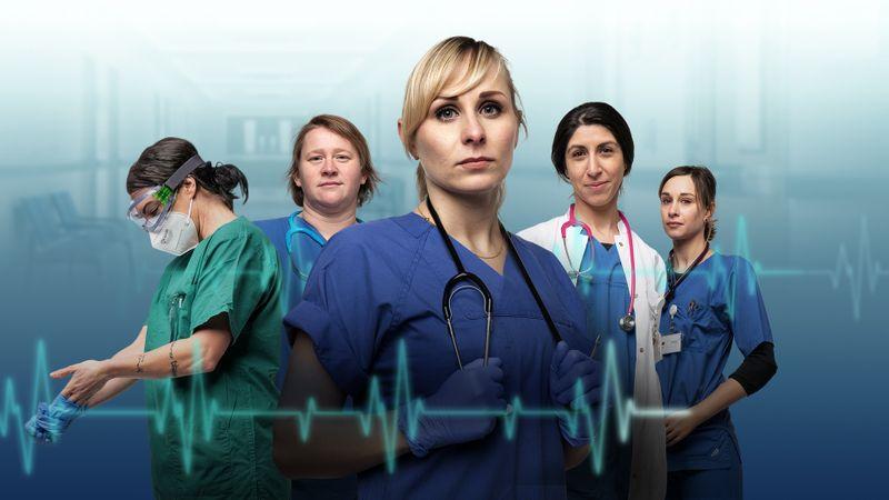 """Die Doku-Soap """"Herz und Viren"""" (ZDF) beschreibt die aktuelle Situation auf deutschen Intensivstationen so packend, als wäre man selbst dabei. Erzählt wird von fünf Pflegerinnen und Ärztinnen in Berlin."""