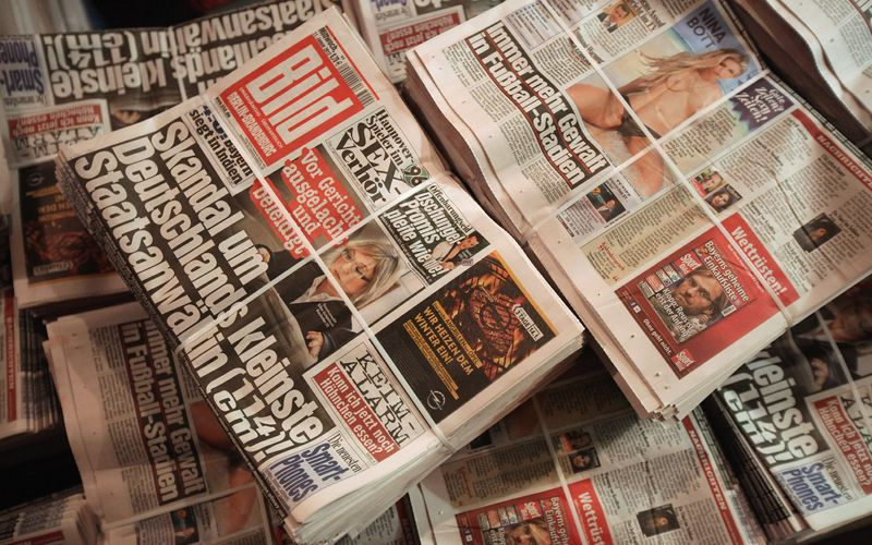 """Noch vor der Bundestagswahl will die """"Bild""""-Zeitung auch als linearer TV-Sender an den Start gehen."""