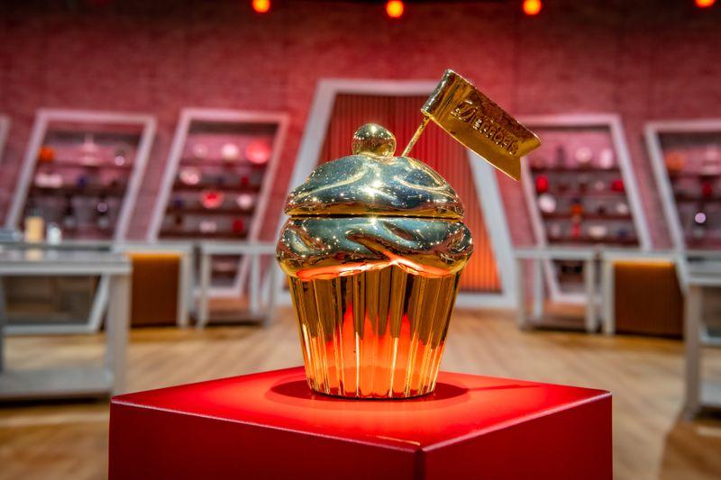 """Darum geht's: Dem Sieger der Staffel winkt der """"Goldene Cupcake""""."""
