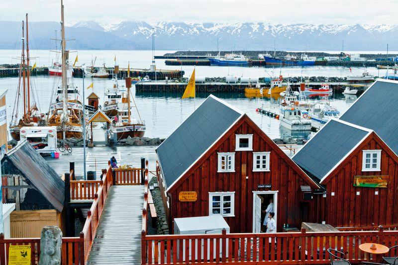 Macht sich Hoffnung auf einen Oscar: Das isländische Städtchen Húsavík.
