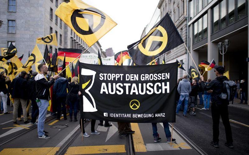 Die Identitäre Bewegung gilt als Jugendorganisation einer Neuen Rechten.
