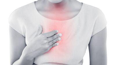 Brennen in der Brust