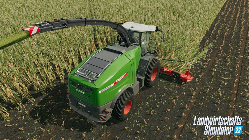 Grüner wird´s nicht! Landwirtschaftliche Maschinen und Fahrzeuge sind hier im Dauereinsatz.