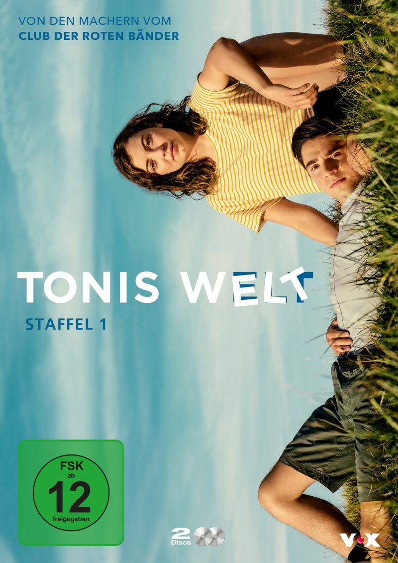 """Der """"Club der roten Bänder""""-Ableger """"Tonis Welt"""" dreht sich um Toni (Ivo Kortlang) und Valerie (Amber Bongard) und ihr neues Leben auf dem Dorf."""