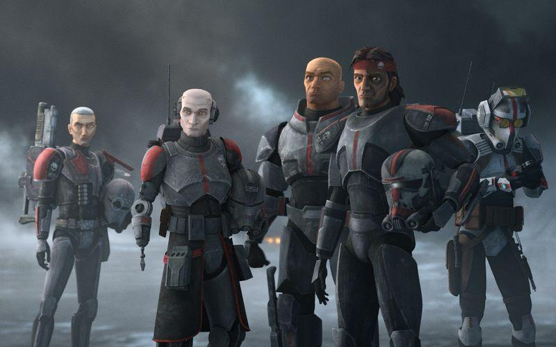 """Klone sind alle gleich? Von wegen! Die fünfköpfige Truppe aus """"Star Wars: The Bad Batch"""" beweist das Gegenteil."""