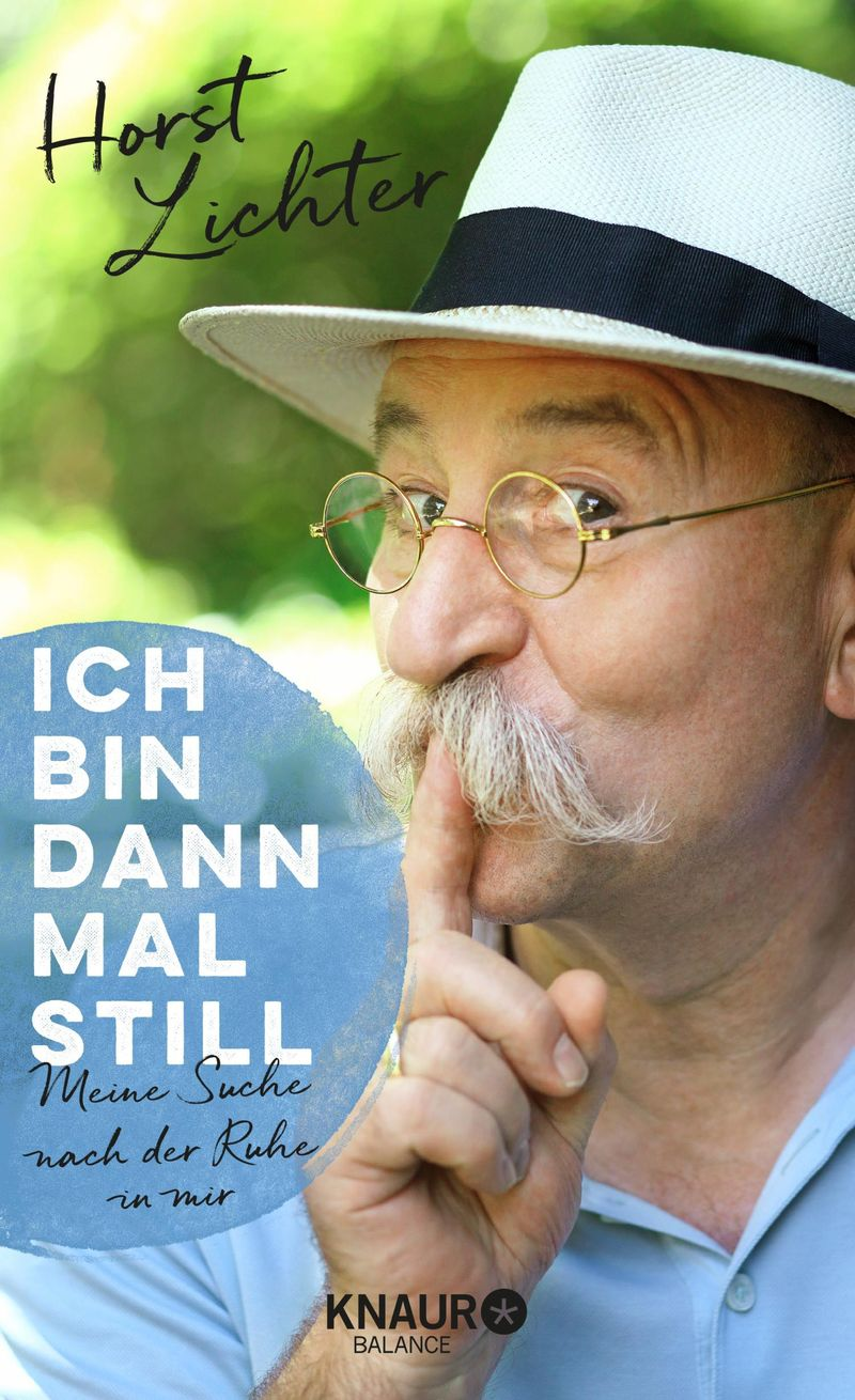 """Ab 3. Mai im Handel: """"Ich bin dann mal still: Meine Suche nach der Ruhe in mir."""" (Knaur Balance, 18,00 Euro)."""